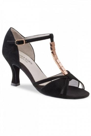 Damen Latein Sandalen mit Verzierung