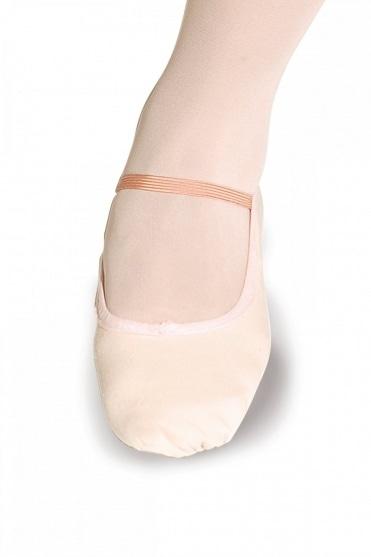 Ballettschläppchen aus Leinen - Weite Passform