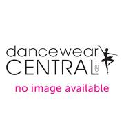 Ballettschläppchen aus Satin mit durchgehender Sohle