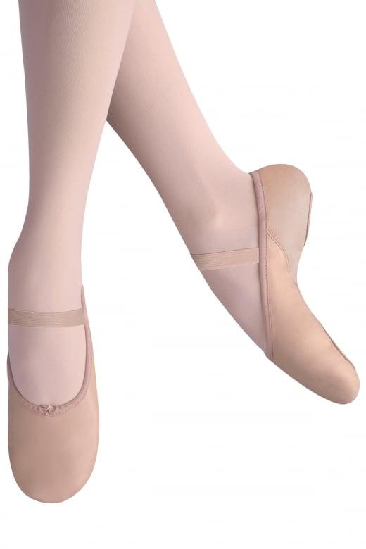 Leo Ballettschläppchen mit Neopren Ferse