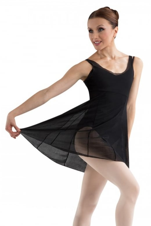 Bloch Panel Kleid aus Netz