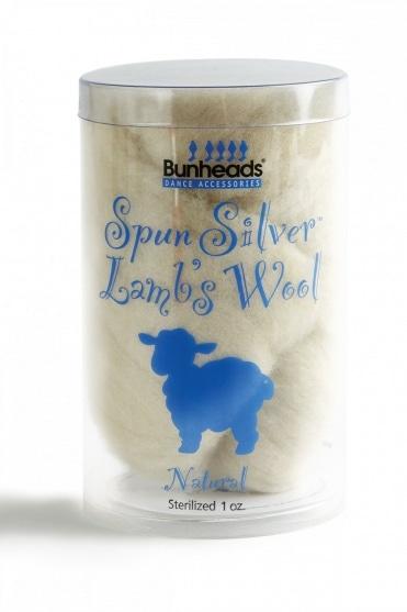 Lammwolle für Spitzenschuhe