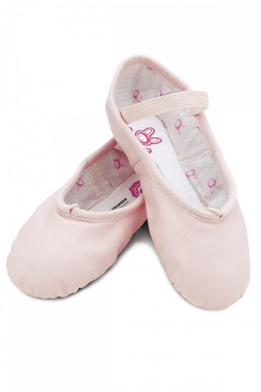 Bloch Bunnyhop Kinder Ballettschuhe aus Leder
