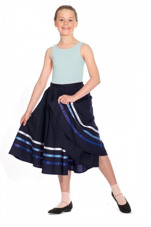 Roch Valley Charakter-Tanzrock mit Bändern