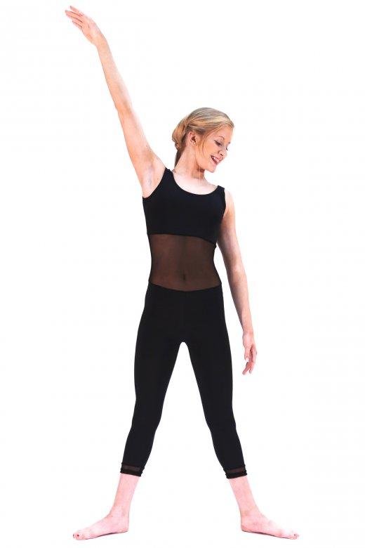 Dans-ez Modernes Ganzkörpertrikot aus Netz