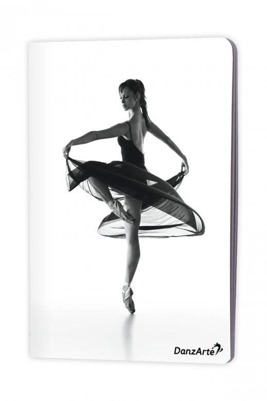 Danzarte A5 Notizbuch mit Ballerina