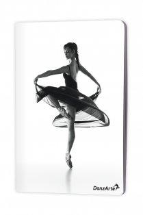 A5 Notizbuch mit Ballerina