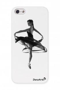 iPhone 5/5s Hülle mit Ballerina im Spitzentanz