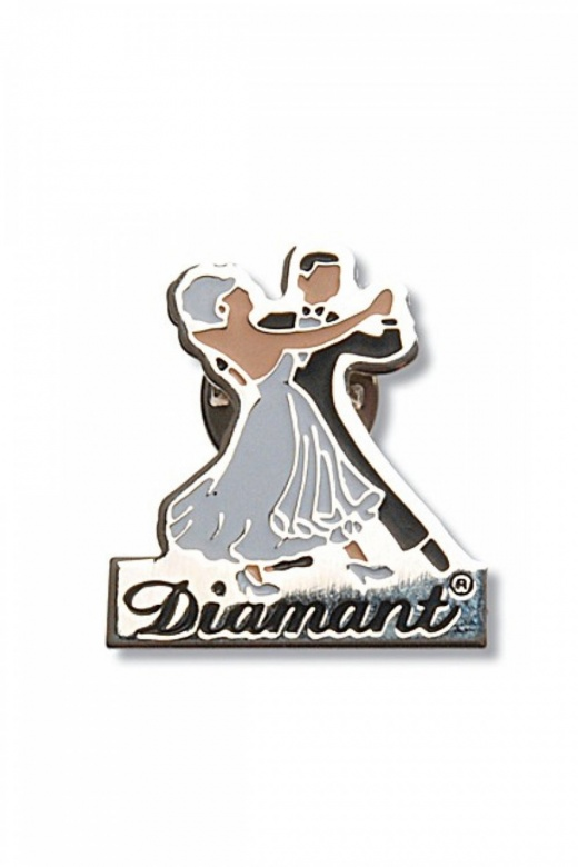 Diamant Tanz-Anstecker