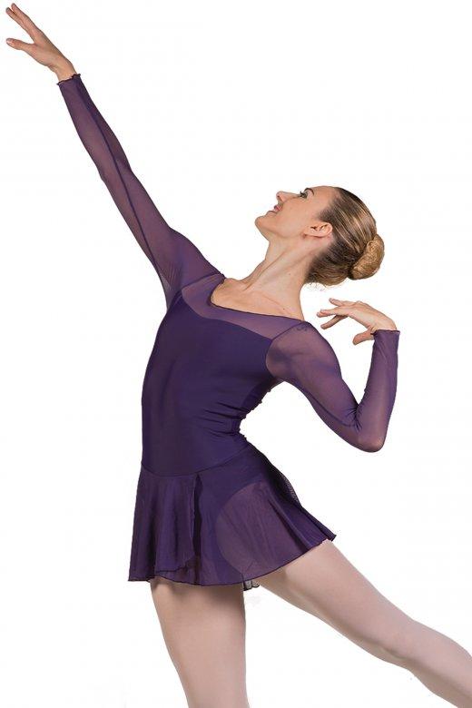 Ballet Rosa Francesca Langarm Damentrikot mit Rock