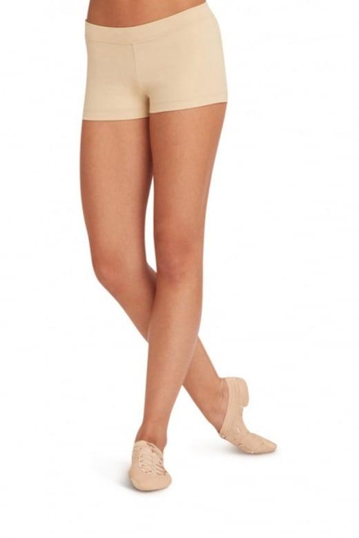 Capezio Hochsitzende Shorts für Erwachsene