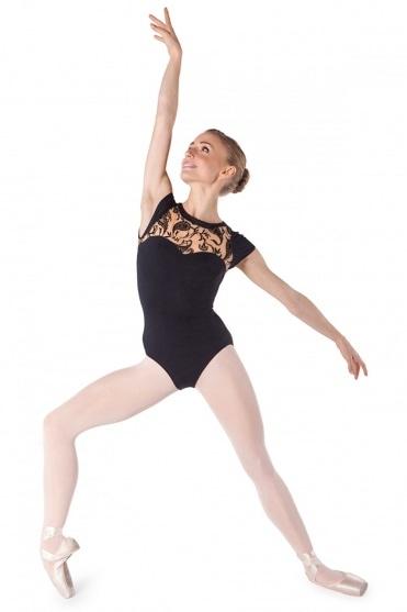 Tanztrikot Bodymertatu Ma mit Flügelärmeln