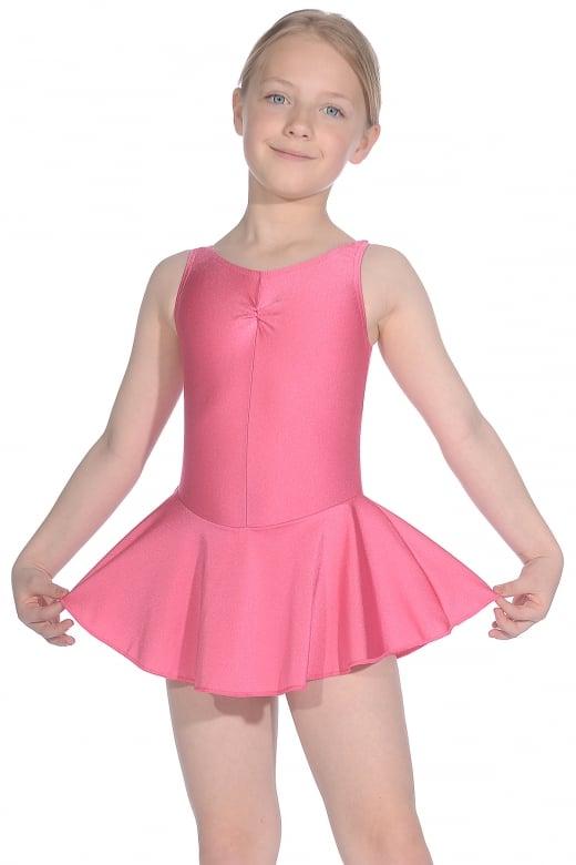 Roch Valley ISTD ärmelloses Ballett Trikot mit Rock