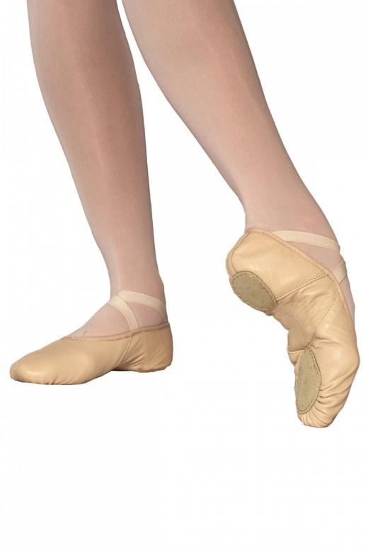 Merlet Iva Ballettschläppchen mit geteilten Sohlen
