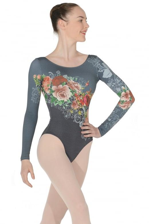 Ballet Rosa Laureline Langarm Trikot für Damen
