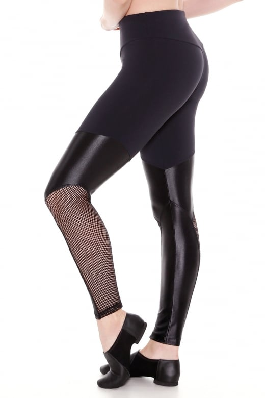 So Danca Leggings aus Fischernetz Material