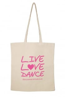 """""""Live Love Dance"""" Einkaufstasche"""