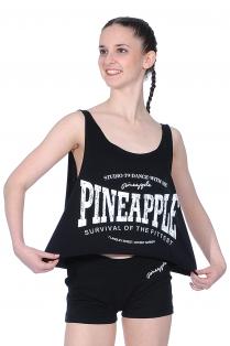 Locker geschnittenes, bauchfreies Top von Pineapple