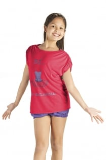 Mädchen 'Loose Fit' T-Shirt