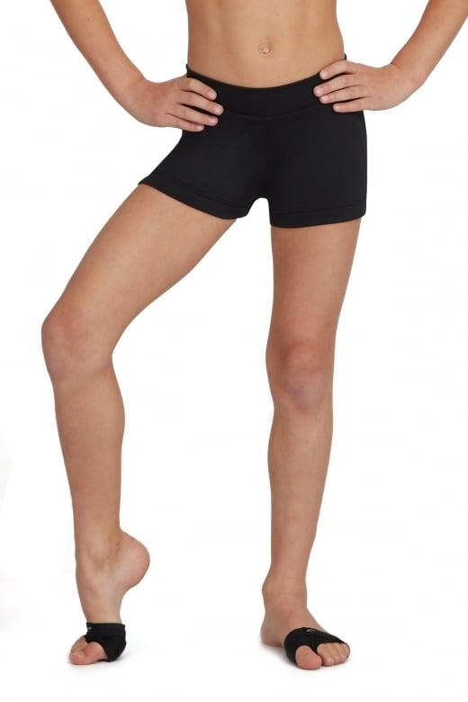 Capezio Micropoly Shorts für Kinder