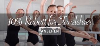 10% Rabatt fur Tanzlehrer