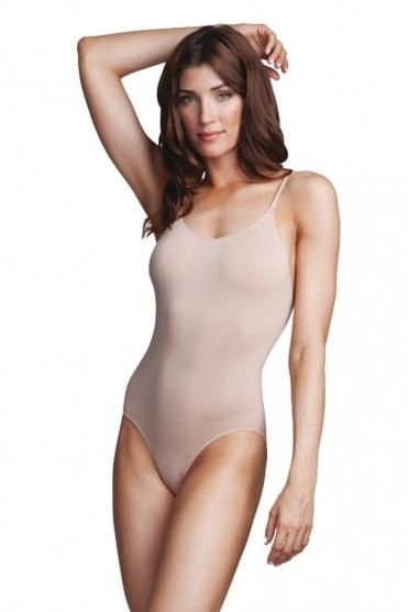 Nahtloser Body mit tiefgeschnittenem Rückenausschnitt