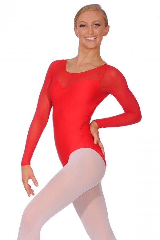Ballet Rosa Perle Langarm Damentrikot