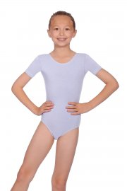 Prim kurzärmeliges Ballett Trikot aus Baumwolle
