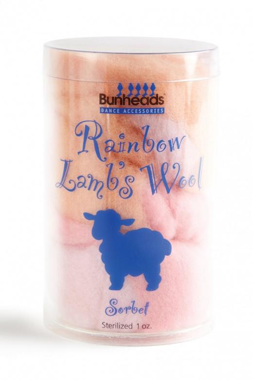Bunheads Regenbogen Lammwolle