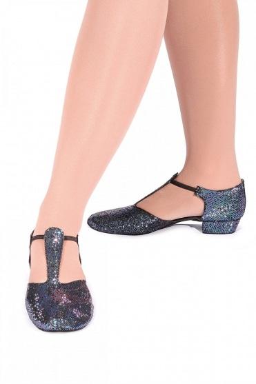 Griechische Sandalen aus Hologrammstoff
