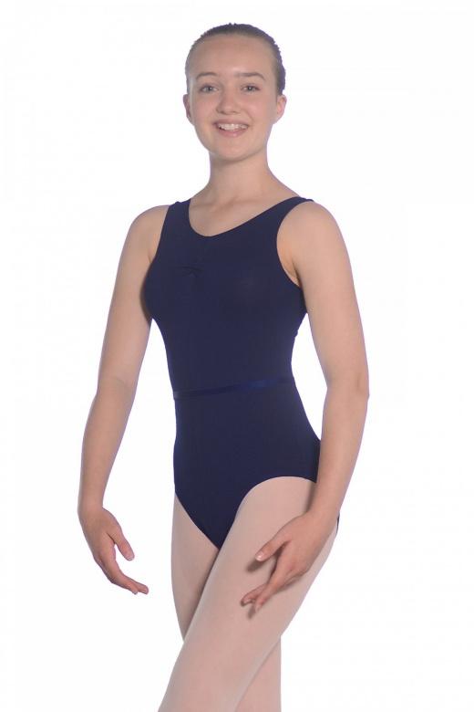 Roch Valley ISTD ärmelloses Ballett Trikot aus Baumwolle
