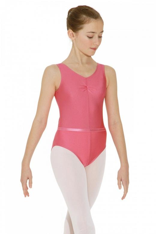 Roch Valley ISTD ärmelloses Ballett Trikot aus Lycra