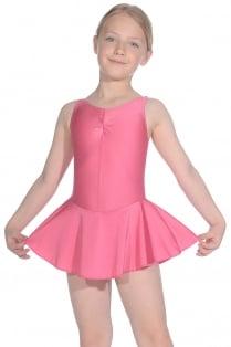 ISTD ärmelloses Ballett Trikot mit Rock