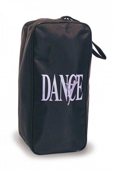 Schuhtasche mit 'Dance' Motiv