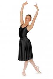 Unterschenkellanger Ballett Rock aus Lycra