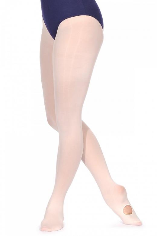 Rumpf Ballett Strumphose mit variablem Fuß