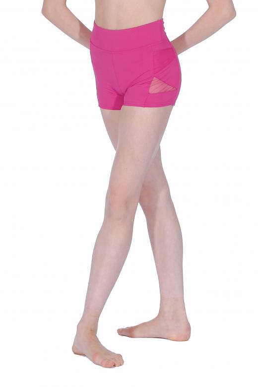 Capezio Shorts mit Netz für Mädchen