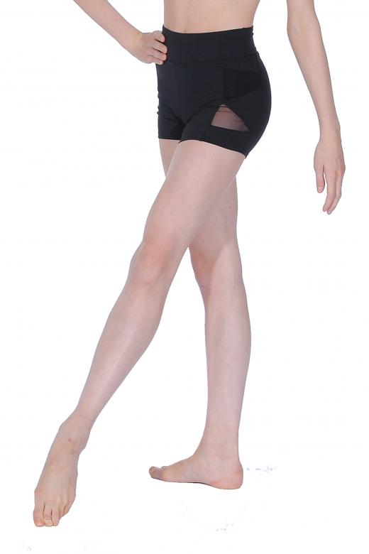 Capezio Shorts mit Netz