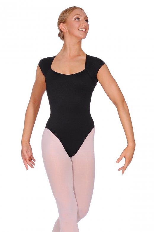 Ballet Rosa Sissi Damentrikot mit Flügelärmel