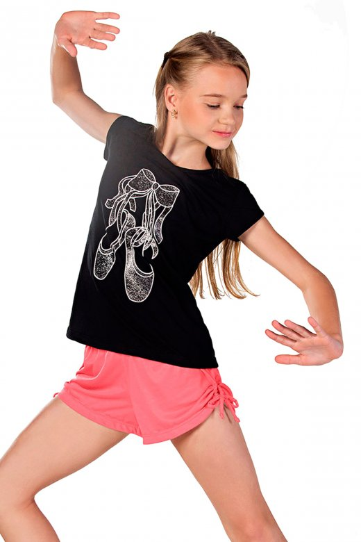 So Danca 'Ballet Shoes' T-Shirt