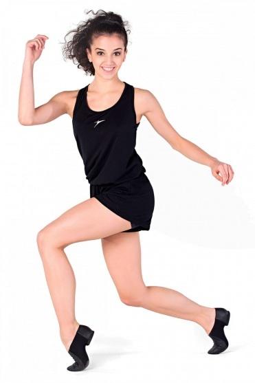 Damen ärmelloser Gymnastikanzug