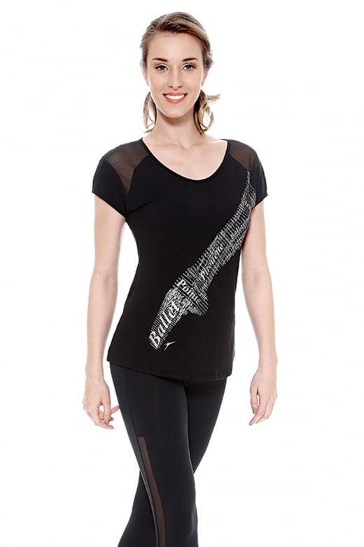 So Danca Spitzenschuh T-Shirt