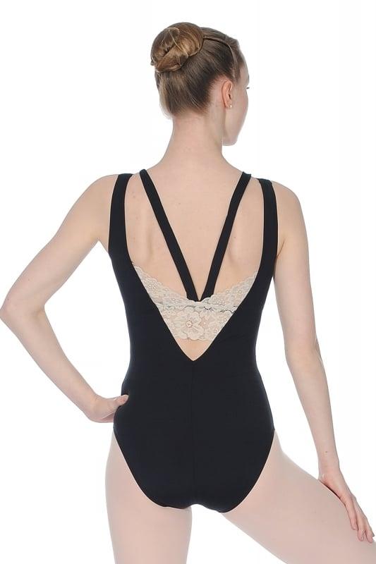 solisten trikot mit hohem kragen von capezio dancewear. Black Bedroom Furniture Sets. Home Design Ideas