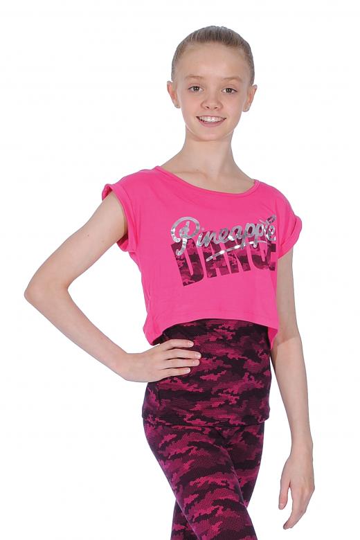 Pineapple T-Shirt mit Camouflage-Schicht
