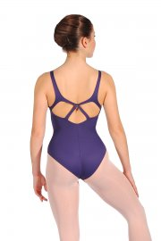 Tanztrikot mit tiefem Rückenausschnitt