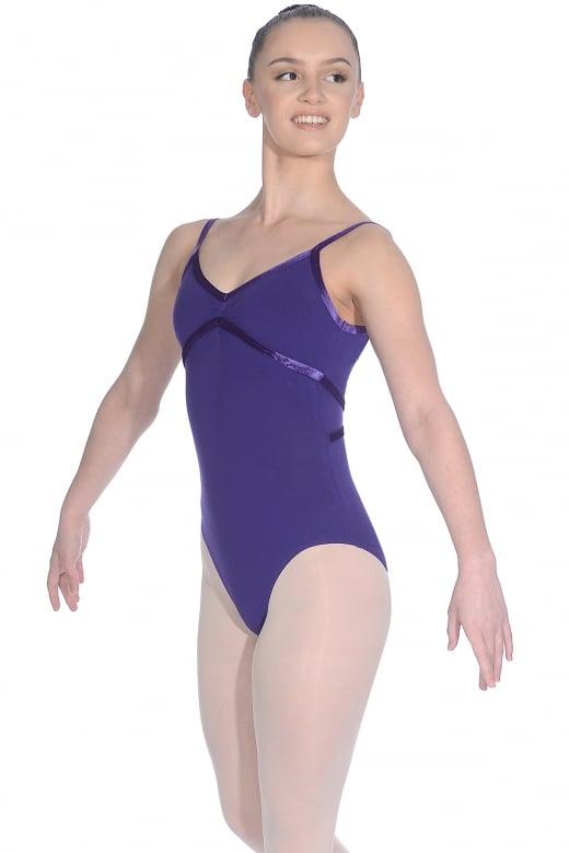 Roch Valley Toni ärmelloses Ballett Trikot mit Spaghetti-Trägern
