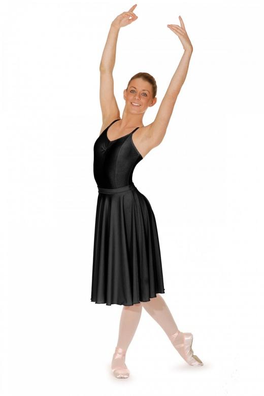 Roch Valley Unterschenkellanger Ballett Rock aus Lycra