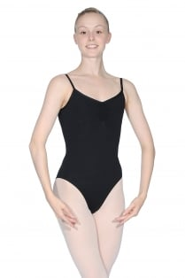 Valerie ärmelloses Ballett Trikot aus Meryl Mikrofaser